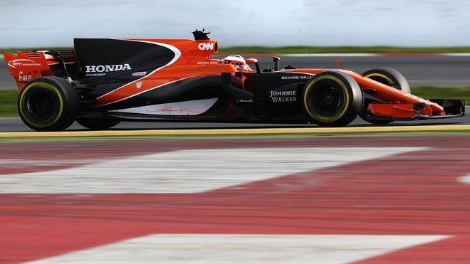 Stoffel Vandoorne s McLarenem druhý týden testů v Barceloně