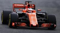 Stoffel Vandoorne s McLarenem MCL32