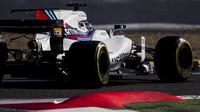 Williams v druhých předsezonních testech v Barceloně