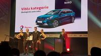 Kia Niro vyhrála titul Ekologické auto roku 2017