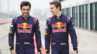 Jezdci Toro Rosso: Carlos Sainz a Daniil Kvjat