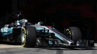 Valtteri Bottas byl přezut nejrychleji ze všech jezdců