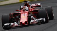 Sebastian Vettel v Austrálii