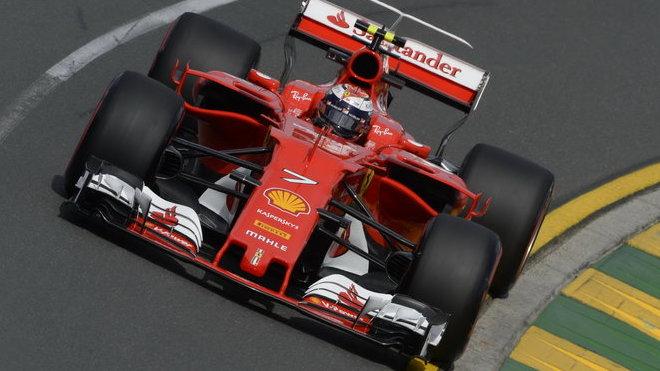 Kimi Räikkönen v Austrálii