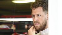 Sebastian Vettel při pátečním tréninku v Austrálii