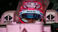 Esteban Ocon s Force Indií