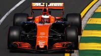 Stoffel Vandoorne s McLarenem MCL32 v Austrálii