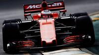 Stoffel Vandoorne s McLarenem v Melbourne