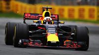 Daniel Ricciardo při pátečním tréninku v Austrálii
