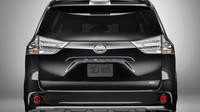 Toyota Sienna vyvolává svým designem kapoty diskuzi