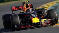 Max Verstappen během Velké ceny Austrálie
