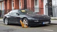 Ferrari 456 GT zapomenuté v Londýně