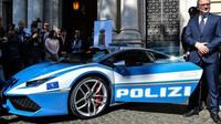 Lamborghini Huracán LP 610-4 pro italskou policii
