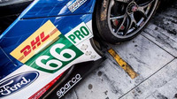 Detail vozu Ford GT týmu Ford Chip Ganassi Racing při prologu v Monze
