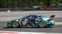Porsche 911RSR zákaznického týmu Dempsey-Proton Racing při prologu v Monze