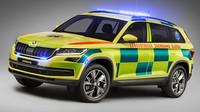 Škoda představila svůj model Kodiaq ve verzi pro záchranné služby