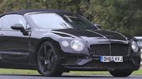 Maskované Bentley Continental 2018