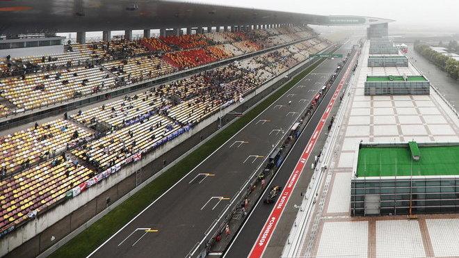Startovní rovinka v Číně