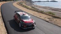 Loeb v první rychlostní zkoušce zazářil, ve druhé přišla chyba