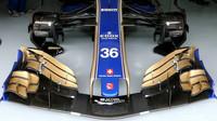 Přední křídlo vozu Sauber | Sauber C36 - Ferrari v kvalifikaci v Číně