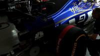 Startování vozu Sauber | Sauber C36 - Ferrari v kvalifikaci v Číně