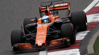 Fernando Alonso v kvalifikaci v Číně
