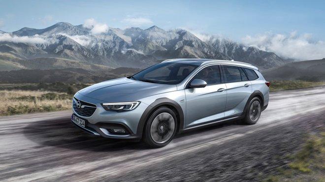 Opel je s modelem Insignia na výsluní a připravil další variantu – terénní Insignii Country Tourer