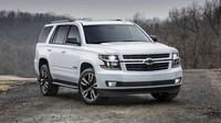 Chevrolet Tahoe pro letošní New York, v Americe mají na aerodynamiku trochu jiný názor, na objem motorů ostatně také