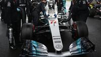 Valtteri Bottas se zařadil k pilotům, kteří mají na svém kontě pole-position
