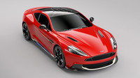 Aston Martin Vanquish v edici Red Arrows
