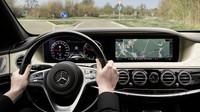 Interiér nového Mercedesu-Benz S