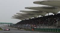 Esteban Ocon v závodě v Číně