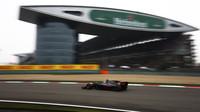 Romain Grosjean s Haasem v GP Číny