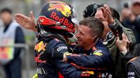 Max Verstappen po závodě v Číně