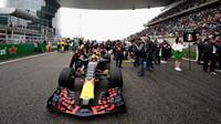 Max Verstappen před závodem v Číně