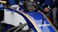 Volant vozu Sauber | Sauber C36 - Ferrari před závodem v Číně