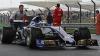 Marcus Ericsson před závodem v Číně