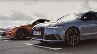 Nissan GT-R vs. Audi RS6