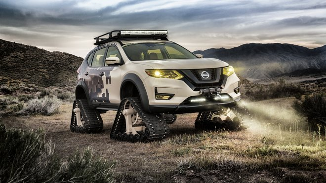 Nissan Rogue Trail Warrior