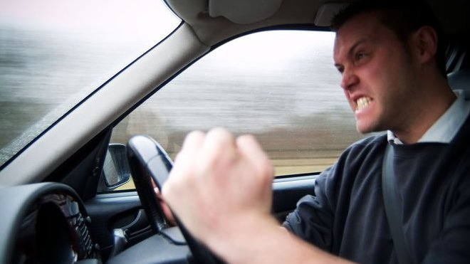 agresivita na silnicích