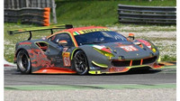 Vůz Ferrari 488 GTE týmu Cearwater Racing
