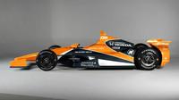 Grafický návrh vozu McLaren - Honda pro závod Indy 500