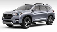 Nový koncept Subaru Ascent