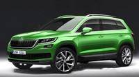 Je tohle podoba budoucího SUV od Škoda Auto?
