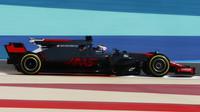 Romain Grosjean při tréninku v Bahrajnu