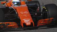 Fernando Alonso při tréninku v Bahrajnu