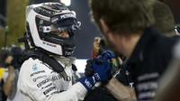 Valtteri Bottas po kvalifikaci v Bahrajnu