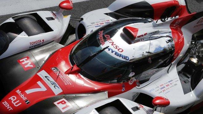 Debut v prototypu Toyota TS050 Hybrid se José Maríi Lópezovi v Silverstone moc nepovedl