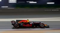 Max Verstappen v kvalifikaci v Bahrajnu