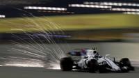 Lance Stroll jistří v kvalifikaci v Bahrajnu